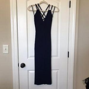 Michael Kors Ribbed Sweater Dress